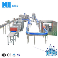 Full Automatic Bottled Soda Drink Water Filling Production Line