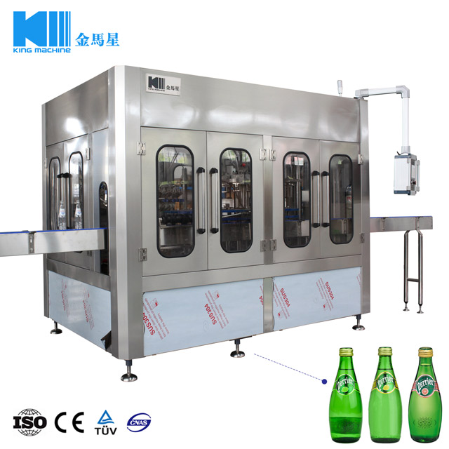 3 in 1 Monoblock Automatic Sparkling Water Drinks Bottling
