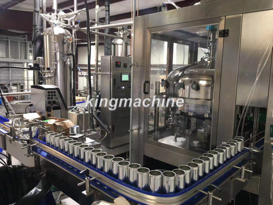 Automatic Carbonated soft drinks can production line in United States
