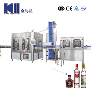 Negative Pressure Glass Bottle Filling Machine