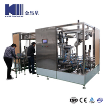Special Liquid Checimal Bottle Filling Sealinig Machine