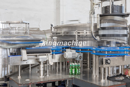60heads glass bottle beer filling machine
