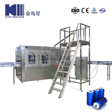 Beer Carbonated Soft Drink Beverage Can Filling And Sealing Machine