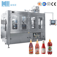 Glass/Pet Bottled Sauce Filling Machine