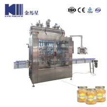 Automatic Honey Washing Bottle Filling Capping Machine Complete Production Line