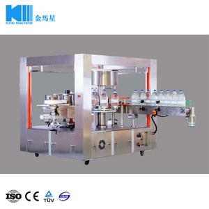 4,000-6,000b/p Rotary Type Automatic OPP Hot Melt Glue Labeling Machine