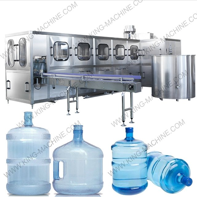 450BPH 5gallon Still Water Production Line